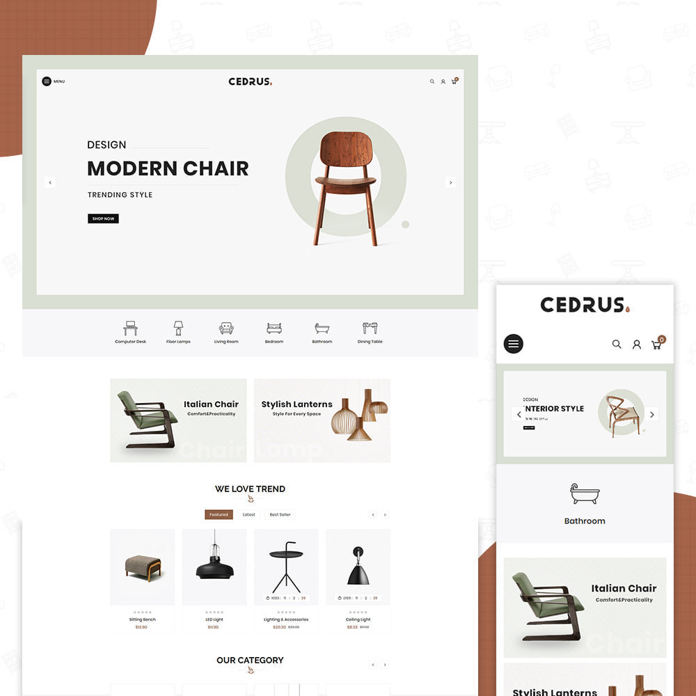 theme - Heim & Garten - Digital Furniture- Cedrus Furniture Store - 1