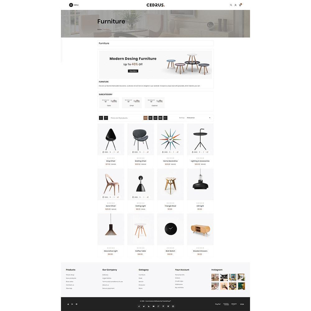 theme - Hogar y Jardín - Digital Furniture- Cedrus Furniture Store - 3