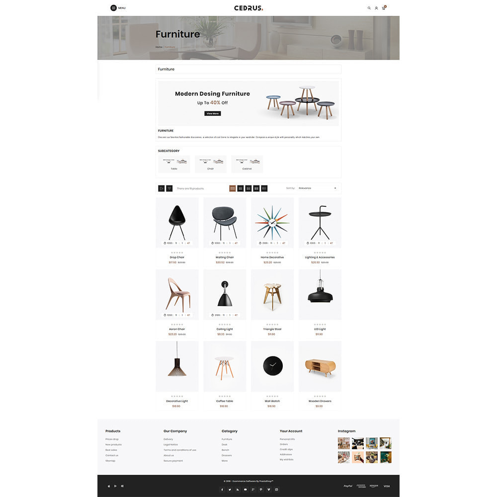 theme - Heim & Garten - Digital Furniture- Cedrus Furniture Store - 3