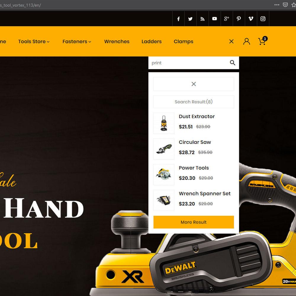 theme - Automotive & Cars - Tool Vortex - Toolen Store - 8