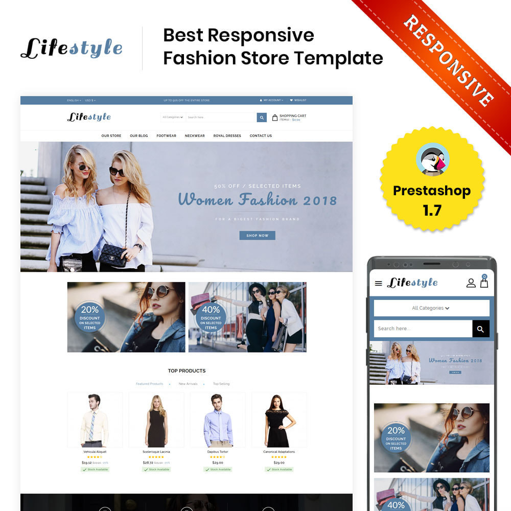 theme - Mode & Schuhe - Lifestyle Fashion Store - 1