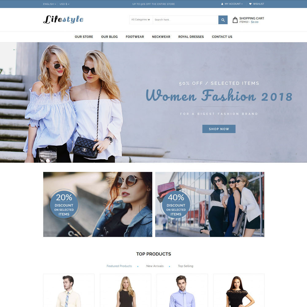 theme - Mode & Schoenen - Lifestyle Fashion Store - 3