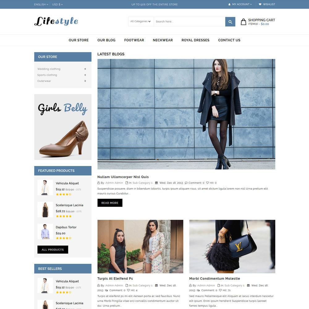 theme - Mode & Chaussures - Magasin de mode de vie - 7