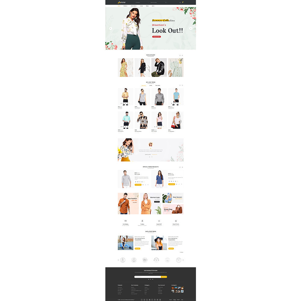 theme - Mode & Chaussures - Fashion Arrow - Fashion Store - 2