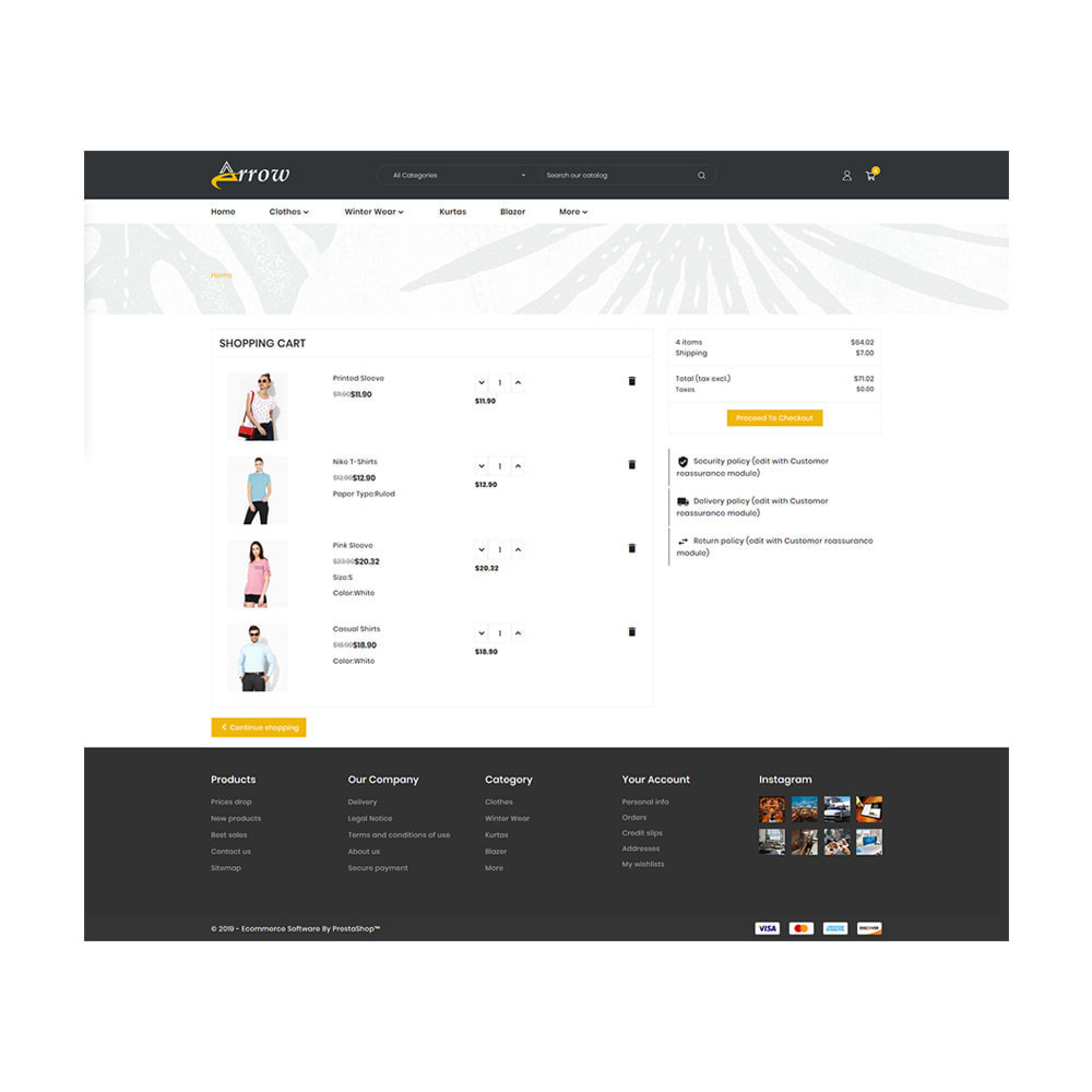 theme - Mode & Chaussures - Fashion Arrow - Fashion Store - 5