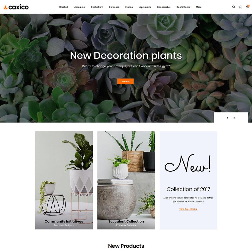 theme - Home & Garden - Caxico - Plant Store - 2