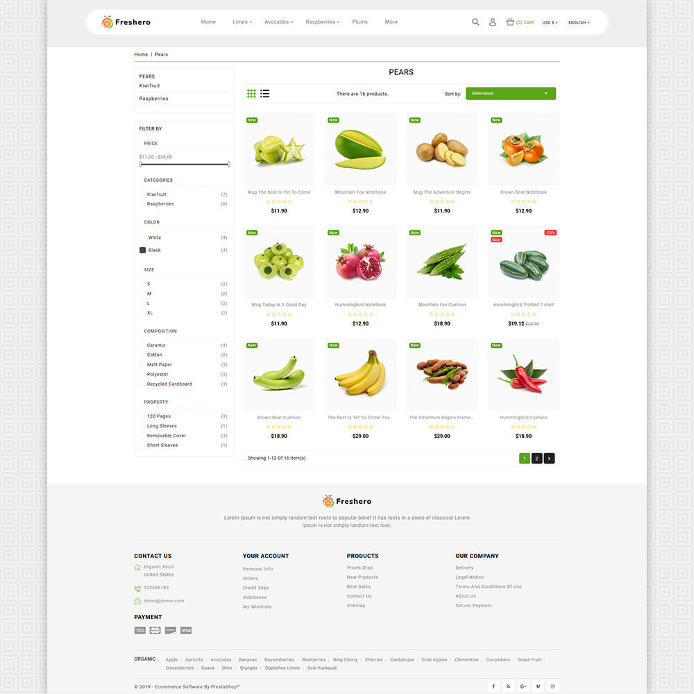 theme - Food & Restaurant - Freshero - The Best Organic Store - 4
