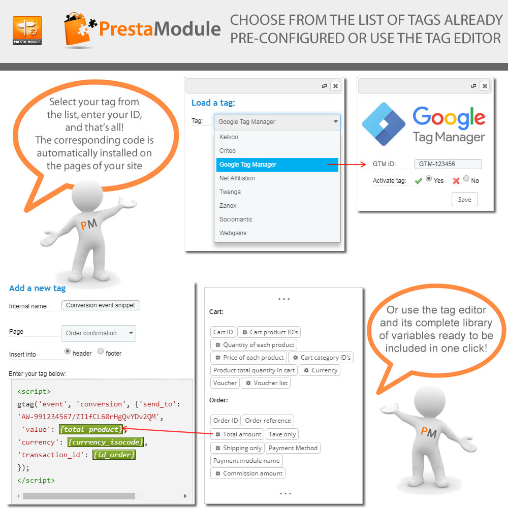 module - Remarketing & Opuszczone koszyki - Advanced Tracking Wizard & Google Tag Manager - 2