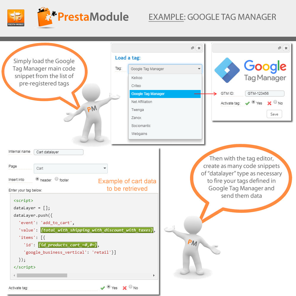 module - Remarketing & Opuszczone koszyki - Advanced Tracking Wizard & Google Tag Manager - 4