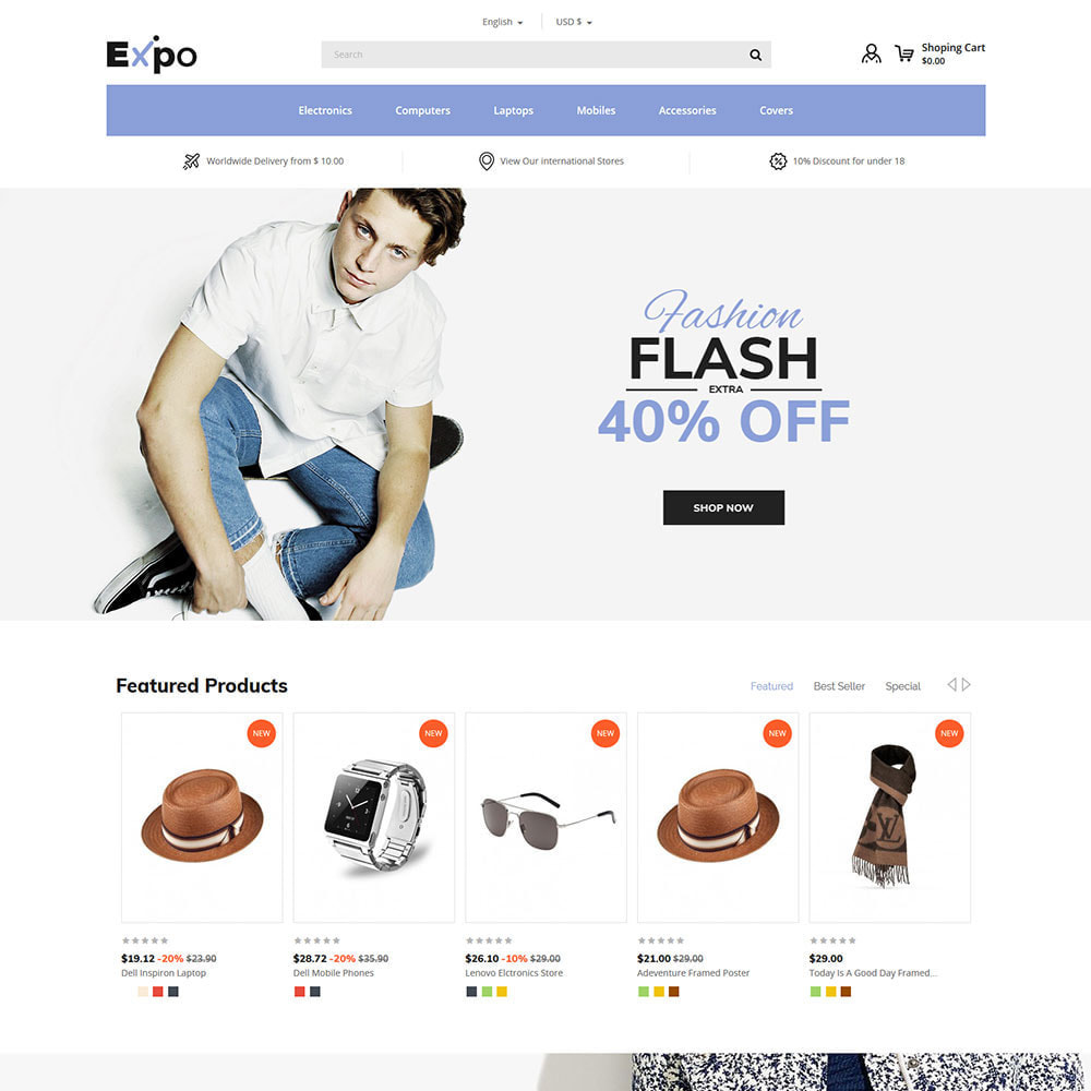 theme - Fashion & Shoes - Fashion Clothes - Women Apparels  Store - 2
