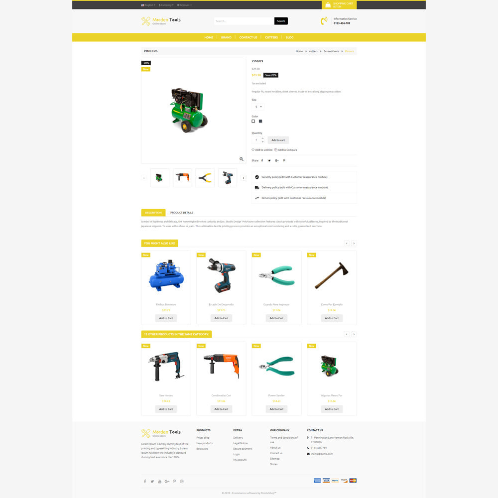 theme - Auto & Moto - Tool - Magasin réactif - 4