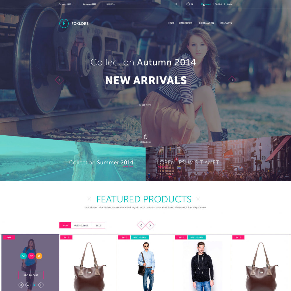 theme - Mode & Chaussures - Luxury for a Clothing Store - 1