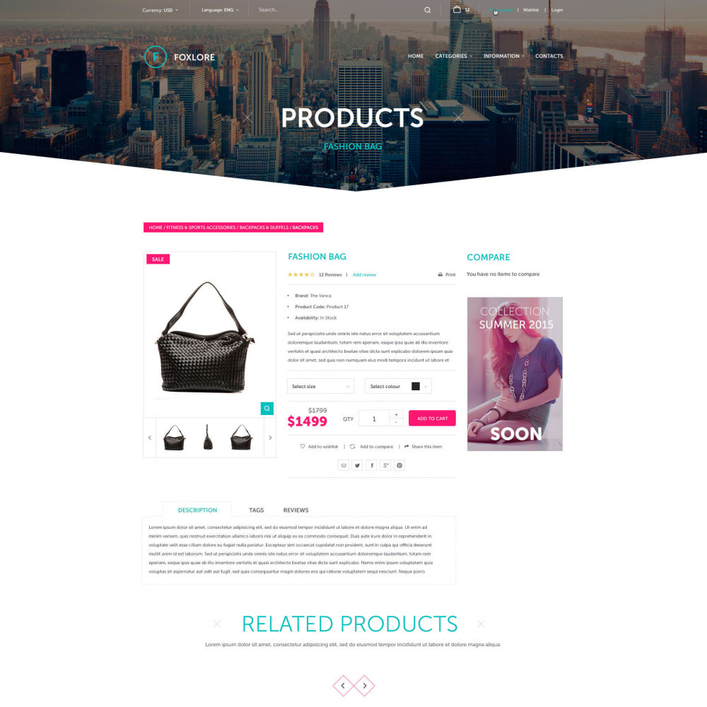 theme - Mode & Chaussures - Luxury for a Clothing Store - 3