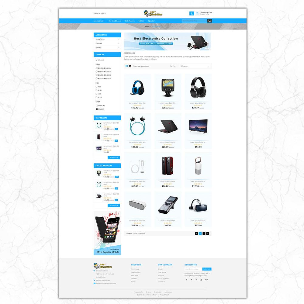theme - Electronics & Computers - Best Electrician- the Electronics shop - 4