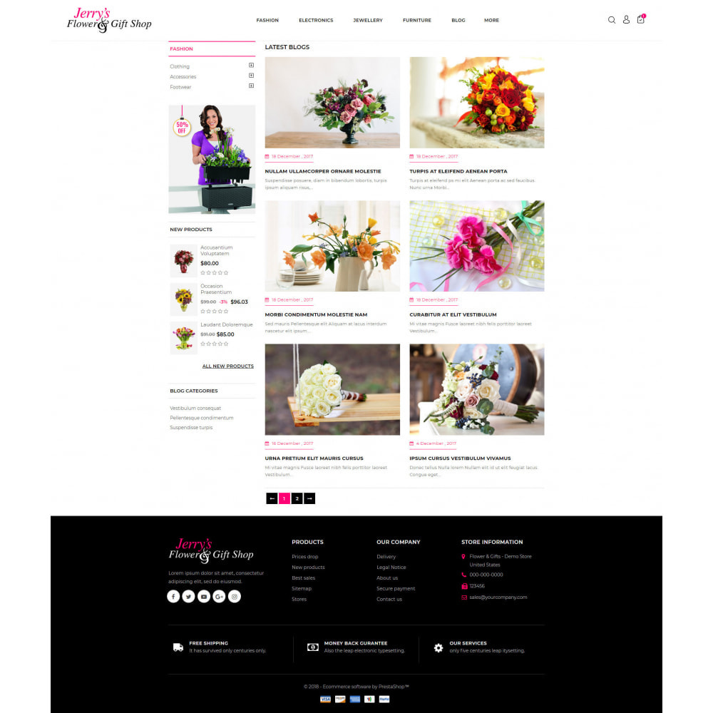 theme - Gifts, Flowers & Celebrations - Flower and Gift Shop - 9