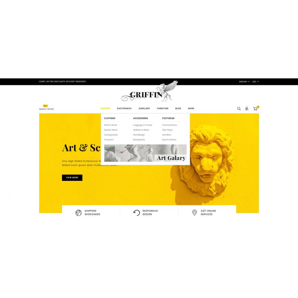 theme - Kultura & Sztuka - Griffin - Art Gallery Store - 6