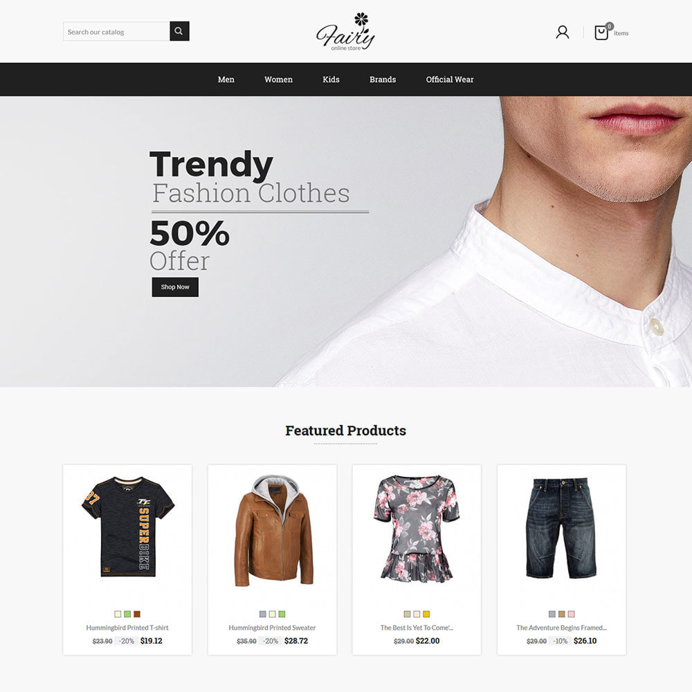 theme - Mode & Chaussures - Fairy Cloth  - Fashion Accessories Store - 2