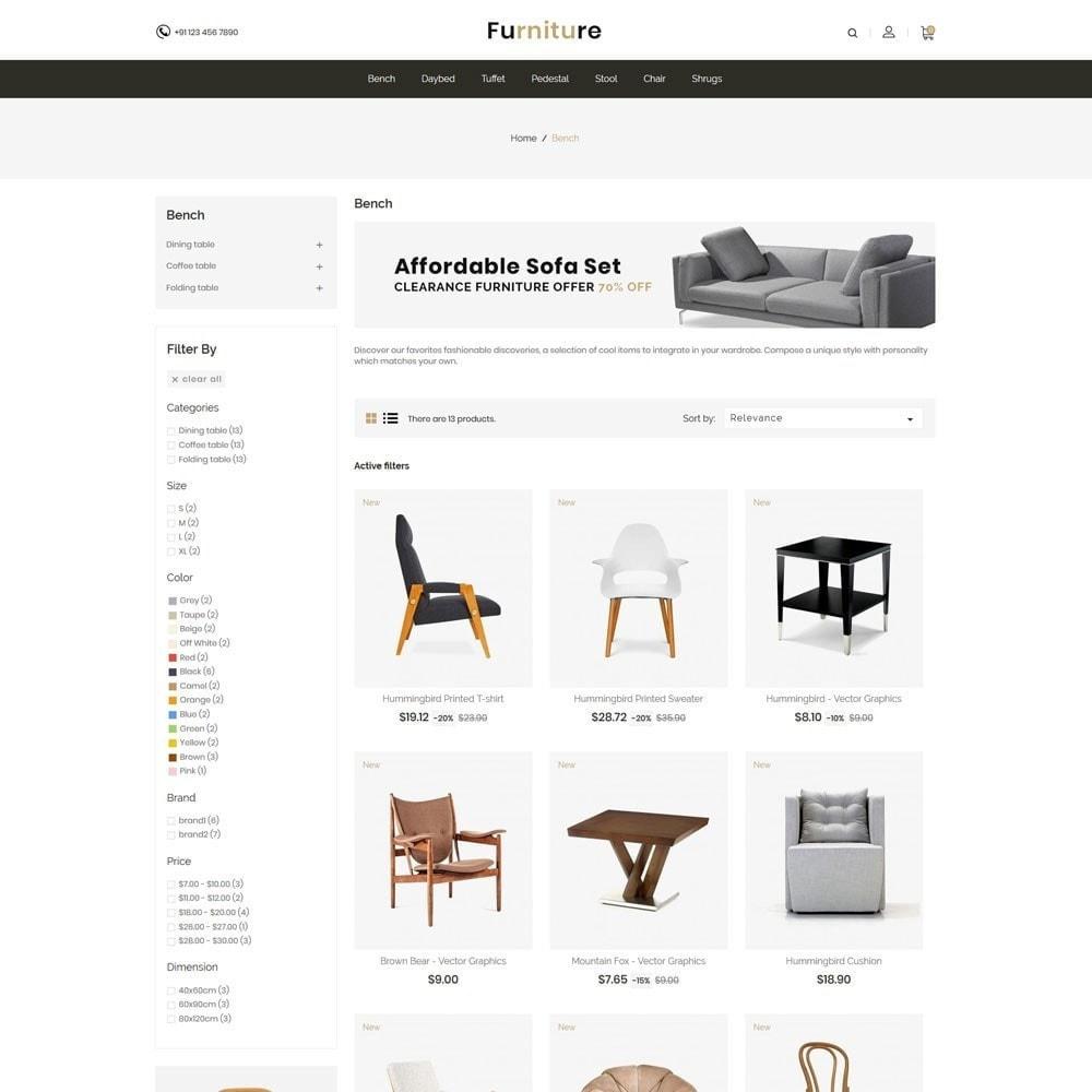 theme - Maison & Jardin - Interior Designer - Furniture Wood Store - 3