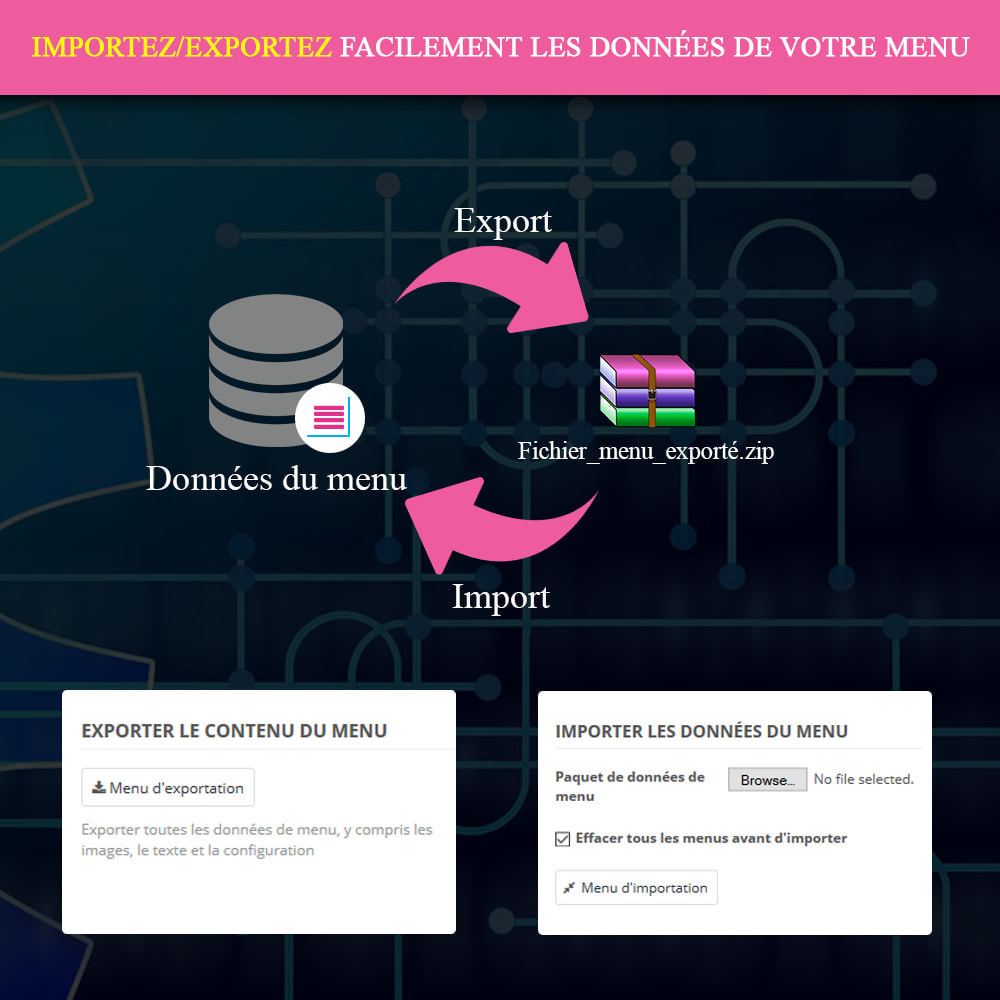 module - Menu - Mega Menu PRO – Drag & drop visuel - 14