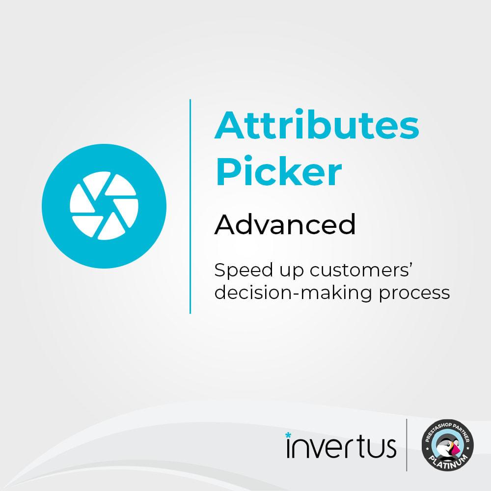 module - Combinaciones y Personalización de productos - Selector de atributos avanzado: para producto - 1