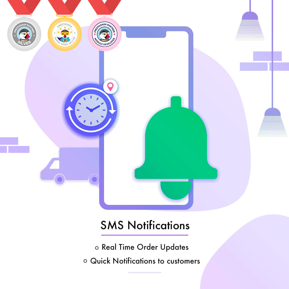 module - Рассылка новостей и SMS - SMS Notification | Real Time Order Updates - 1