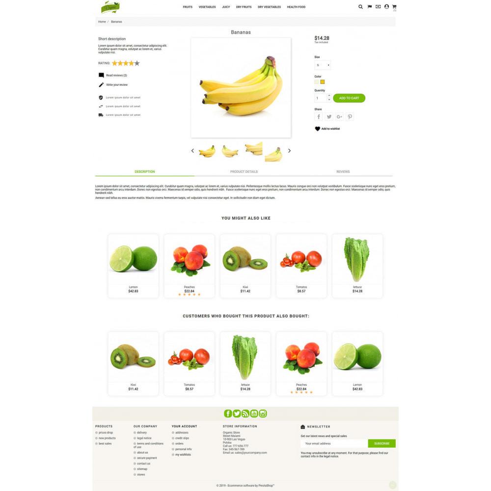 theme - Żywność & Restauracje - Natural Organic - 4