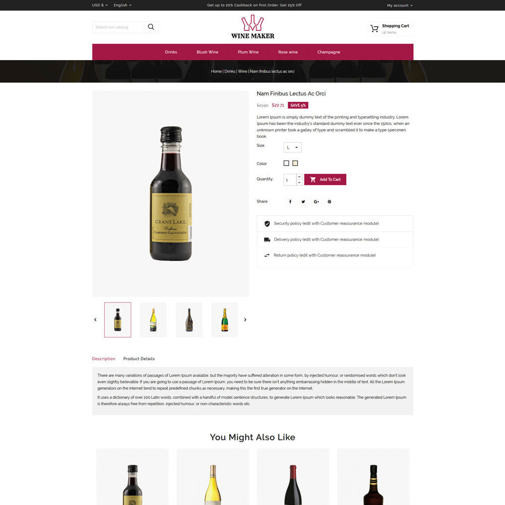 theme - Drank & Tabak - Wine maker Shop - 4
