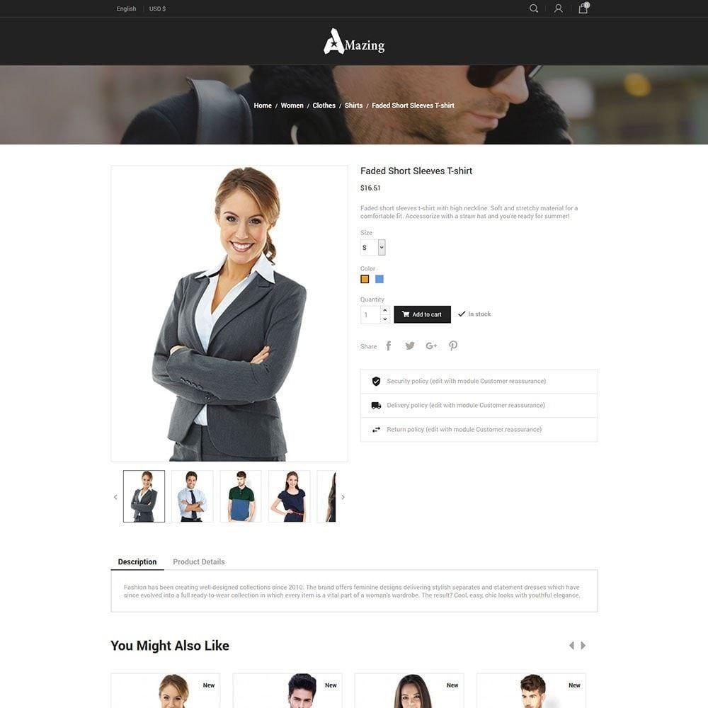 theme - Mode & Schuhe - Amazing Black - Fashion Dark Store - 5