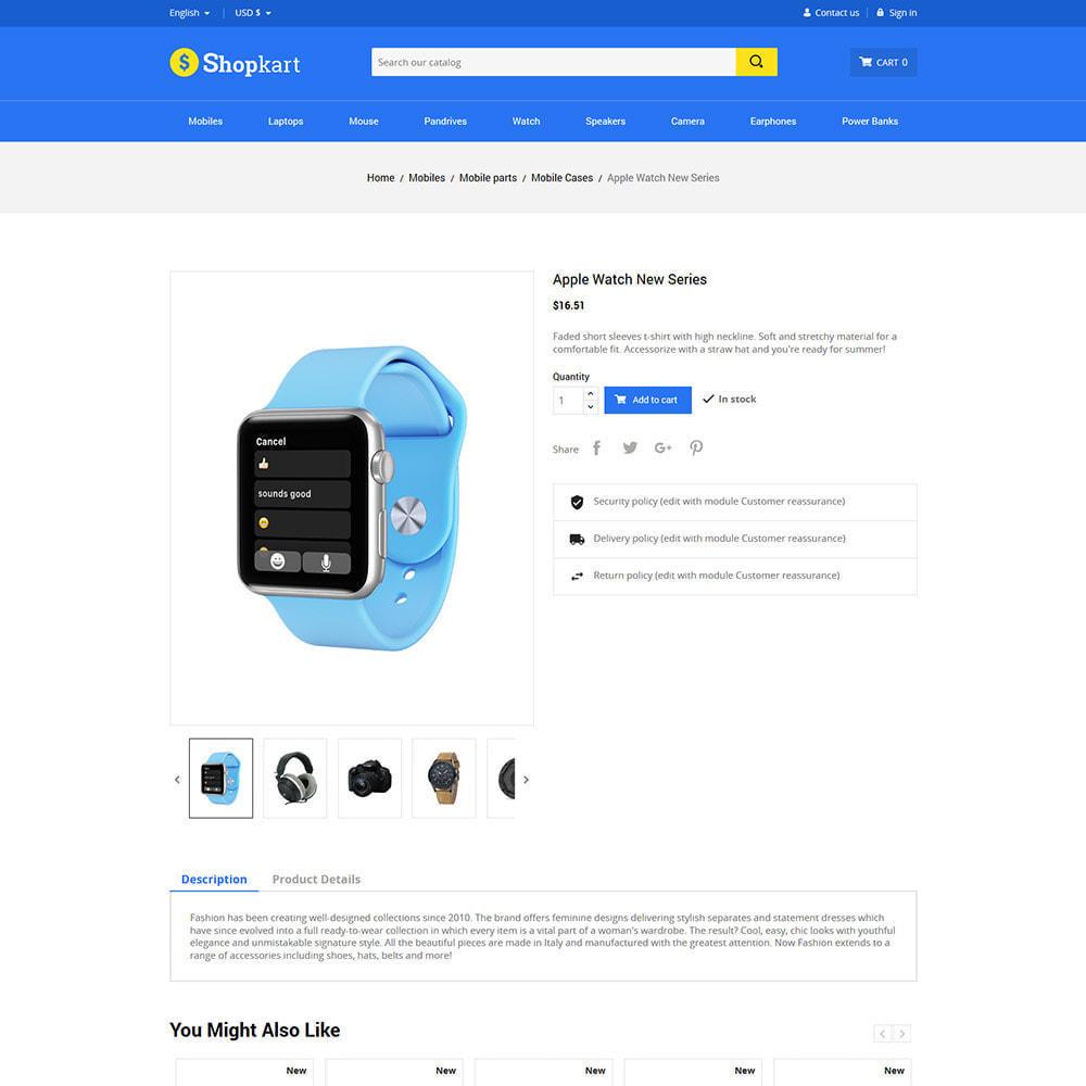 theme - Elektronica & High Tech - Shopkart Electronics - Digitale mobiele winkel - 6