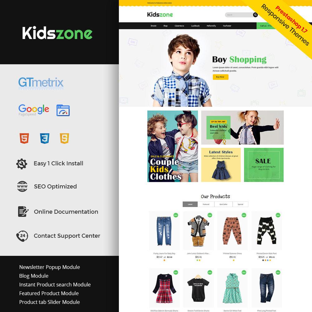 theme - Enfants & Jouets - Jouets pour enfants - Zone de jeux Magasin de vêtements - 2