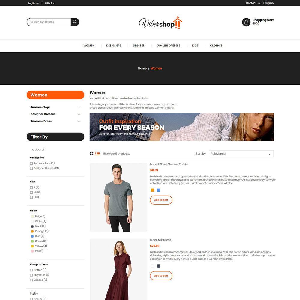 theme - Moda & Calzature - Abiti di moda - Negozio di accessori da donna - 6