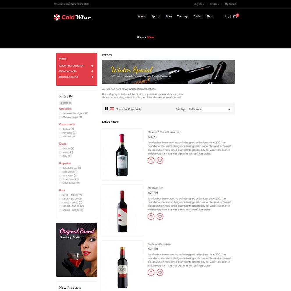 theme - Getränke & Tabak - Kalter Wein - Alkoholgetränk-Speicher - 5