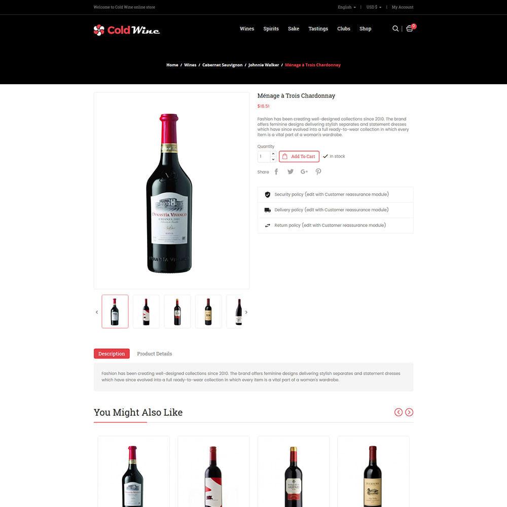 theme - Napoje & Wyroby tytoniowe - Zimne wino - sklep z napojami alkoholowymi - 5
