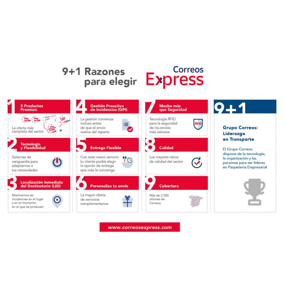 module - Fecha de entrega - Correos Express- Paquetería Urgente para tu Ecommerce. - 3