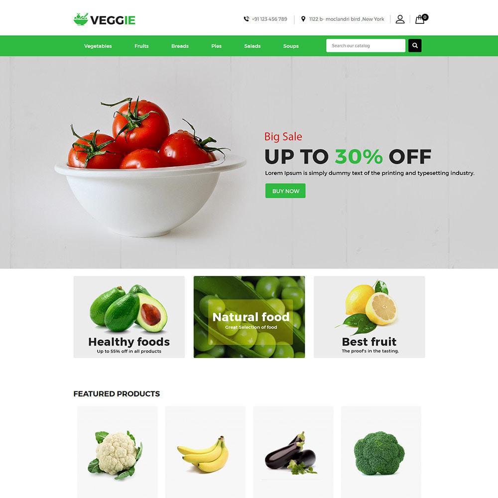 theme - Żywność & Restauracje - Vegitables Food - Fruit Grocery Store - 4