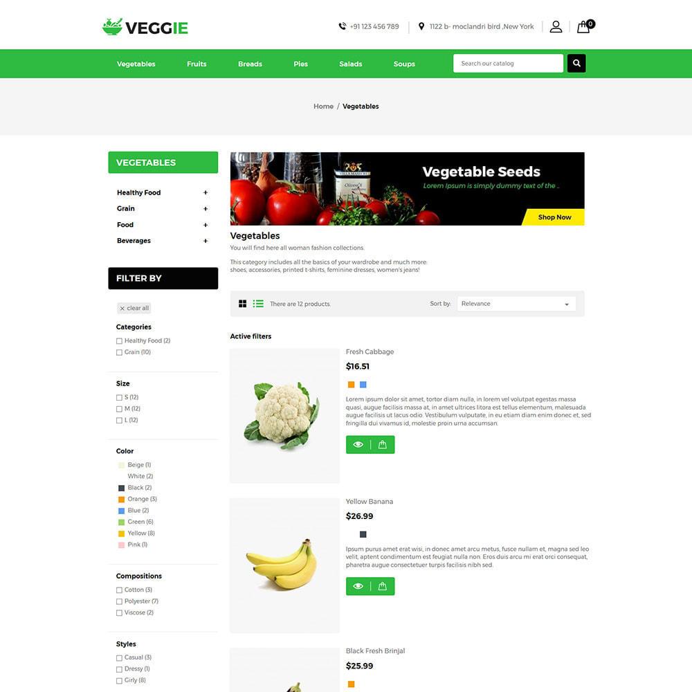 theme - Żywność & Restauracje - Vegitables Food - Fruit Grocery Store - 7