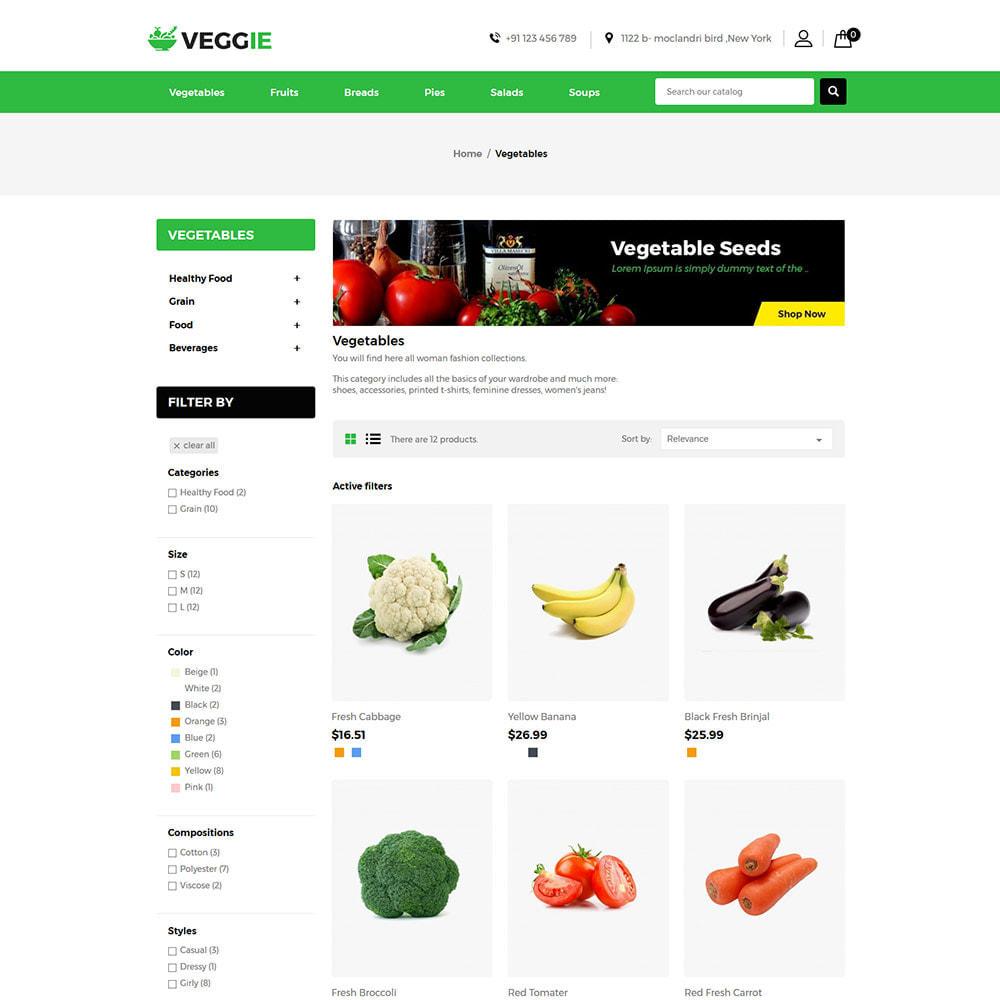 theme - Alimentation & Restauration - Vegitables Food - Épicerie de fruits - 3