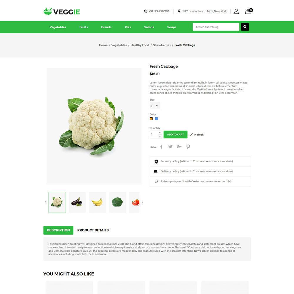 theme - Alimentation & Restauration - Vegitables Food - Épicerie de fruits - 6