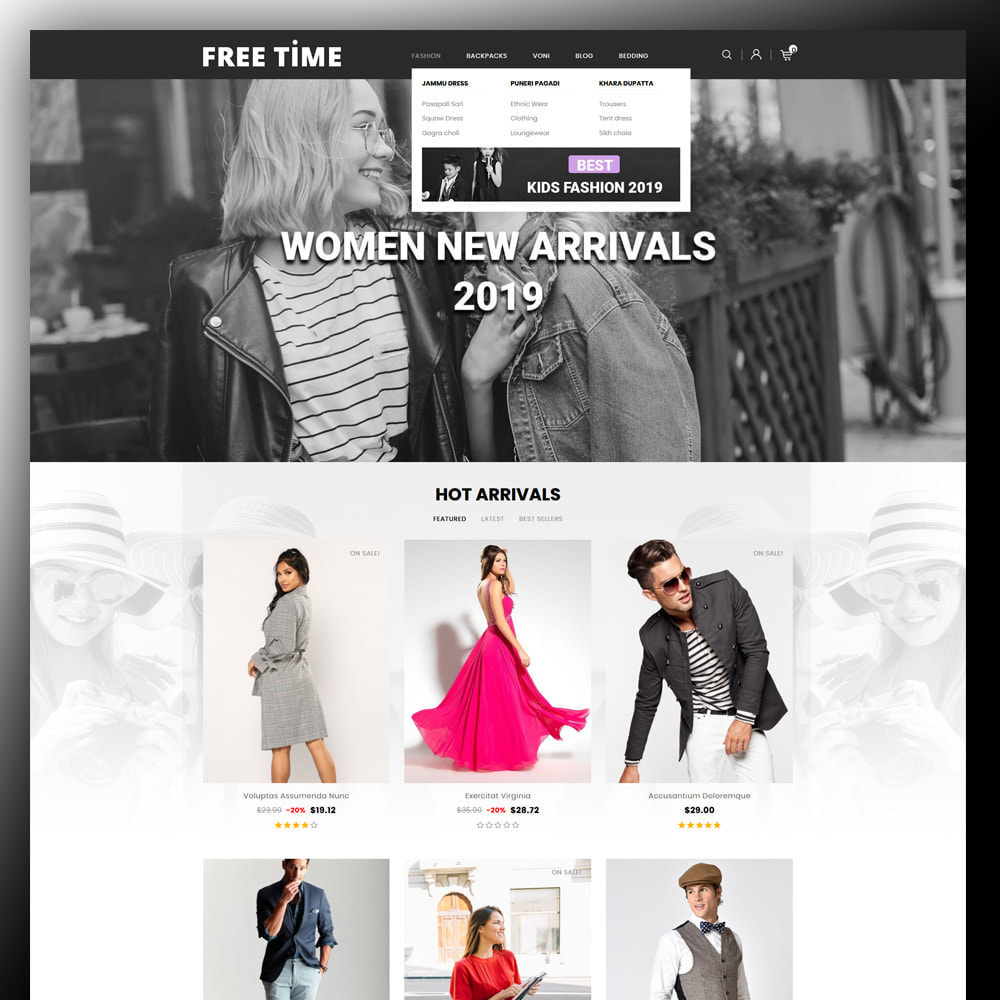 theme - Moda y Calzado - Freetime - Fashion Store - 2