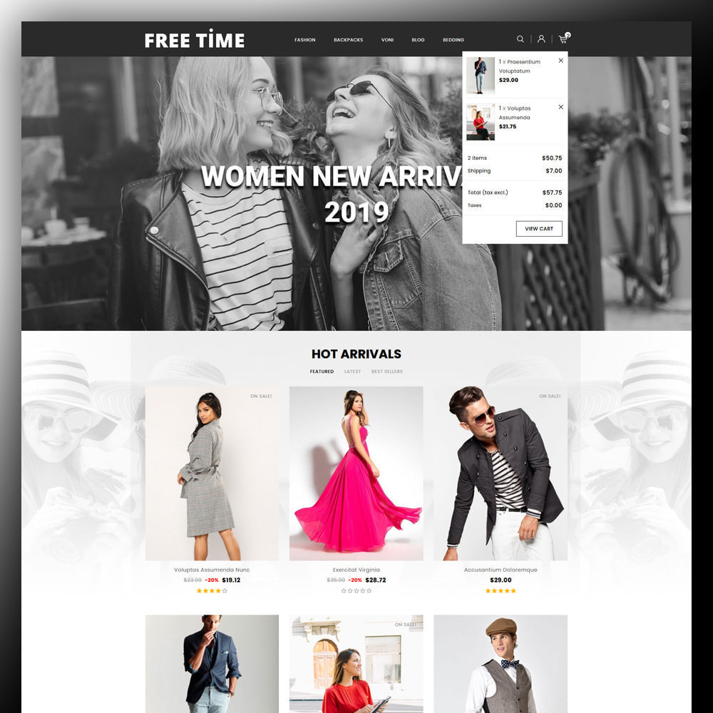 theme - Moda y Calzado - Freetime - Fashion Store - 3