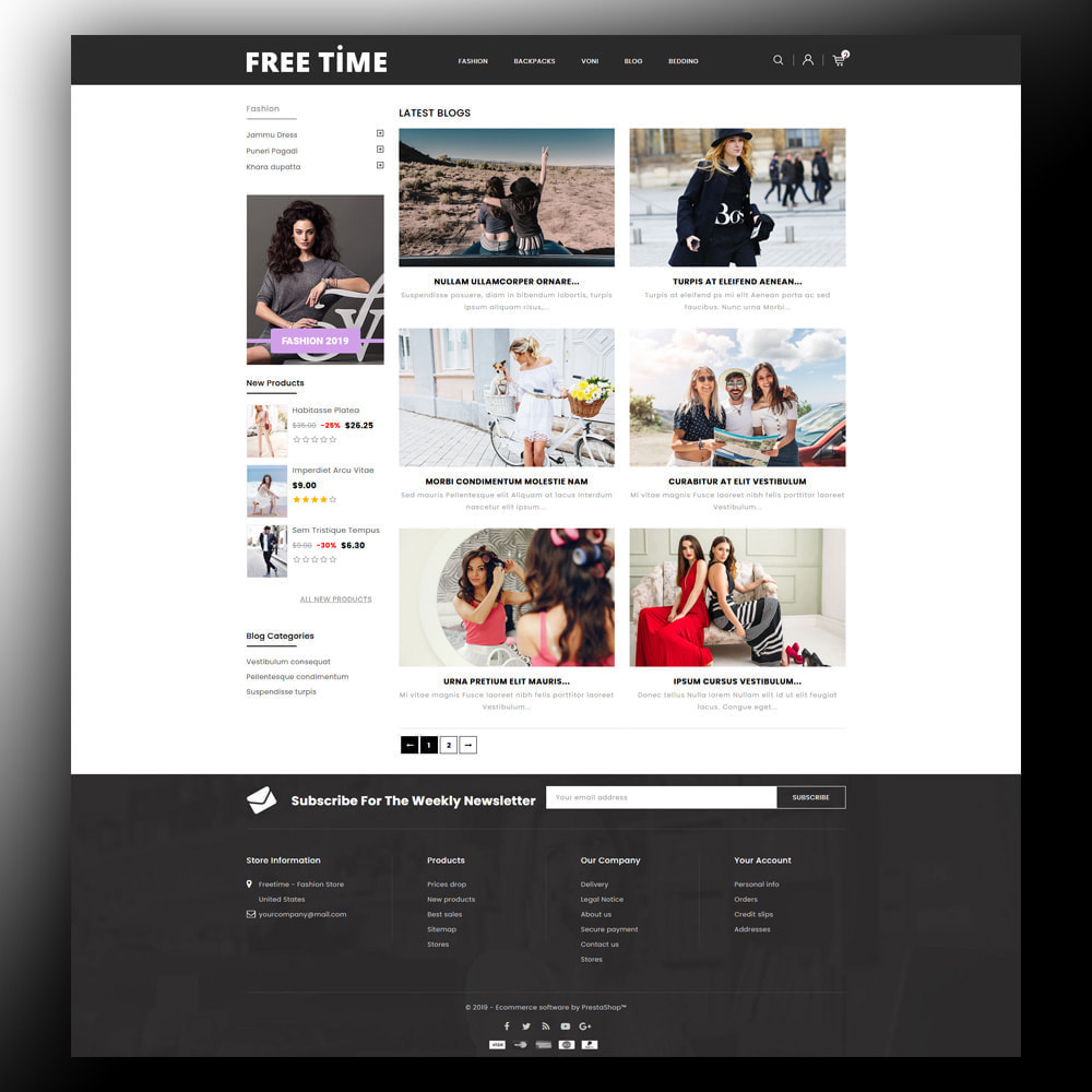 theme - Moda y Calzado - Freetime - Fashion Store - 7
