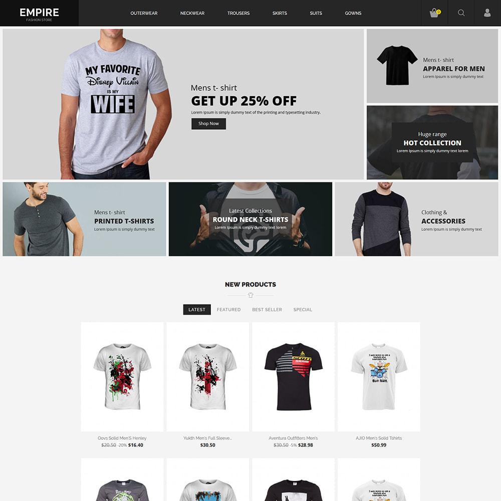 theme - Moda & Obuwie - Black Fashion - Dark Women tshirt Store - 3