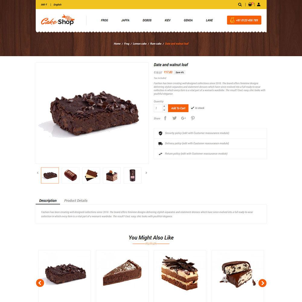 theme - Продовольствие и рестораны - Cake Food - кондитерская - 6