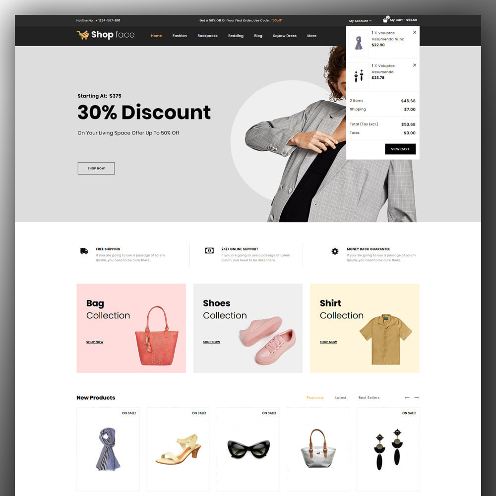 theme - Moda & Obuwie - Shopface - Fashion Store - 3