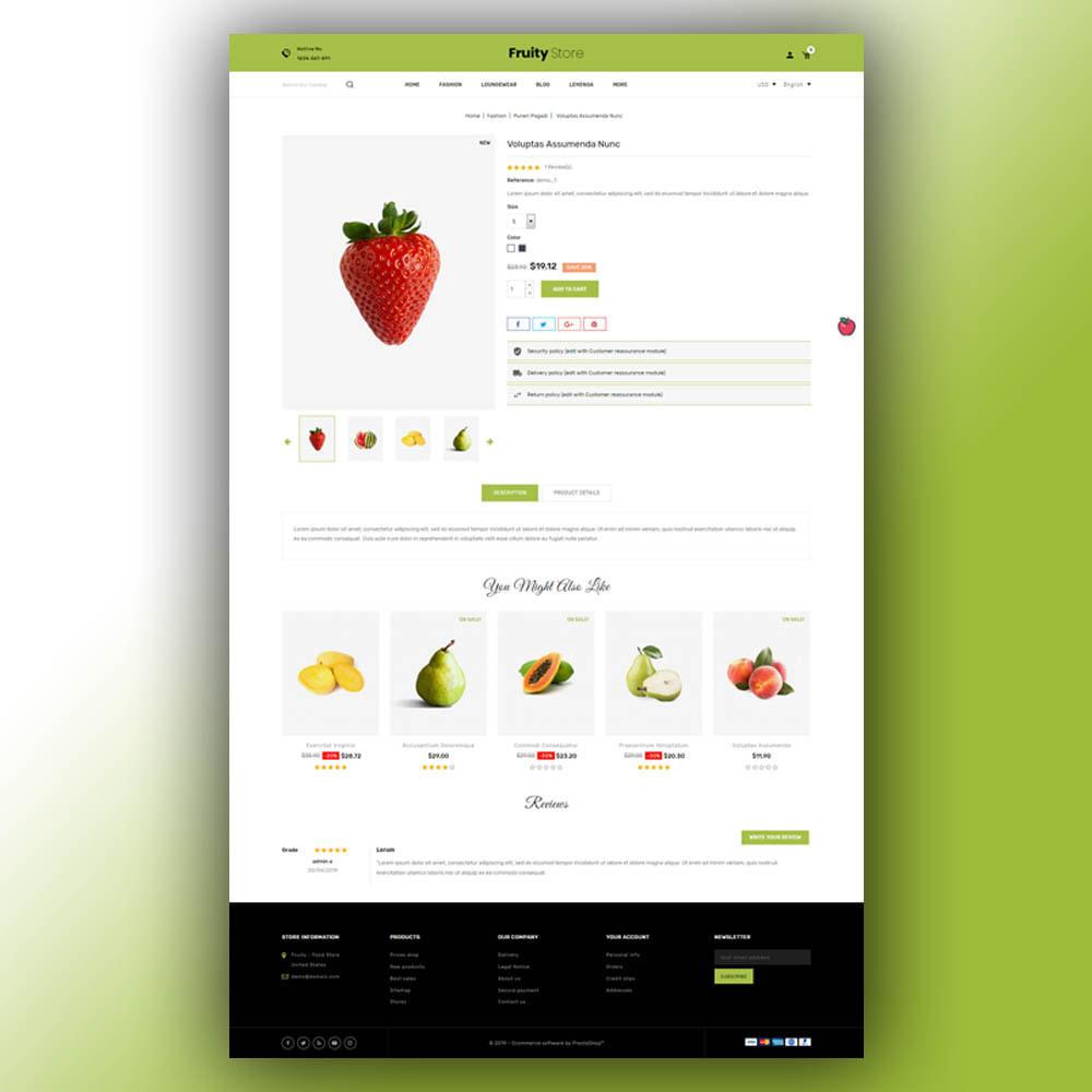 theme - Żywność & Restauracje - Fruity - Fruit Store - 6