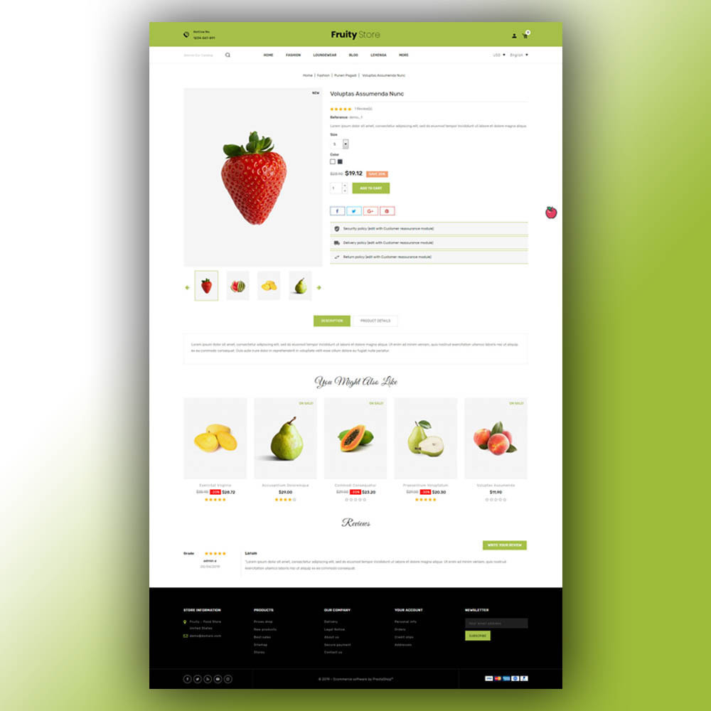 theme - Food & Restaurant - Fruity - Fruit Store - 6