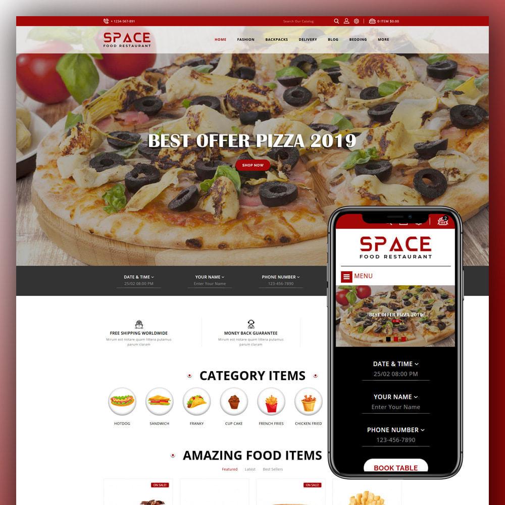 theme - Eten & Restaurant - Space - Food Restaurant - 1