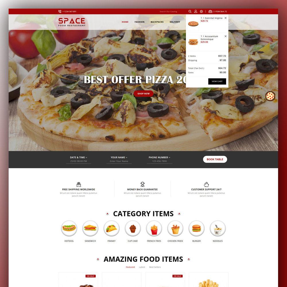 theme - Eten & Restaurant - Space - Food Restaurant - 3