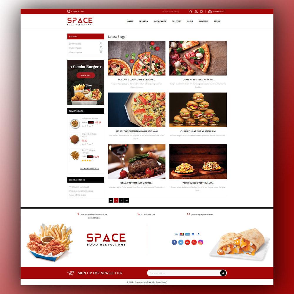 theme - Eten & Restaurant - Space - Food Restaurant - 7