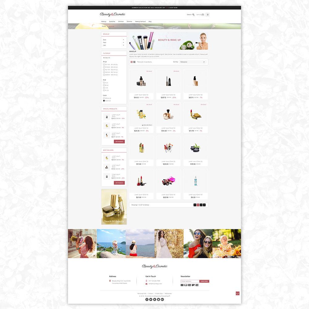 theme - Health & Beauty - Buety adn Cosmetics shop - 3